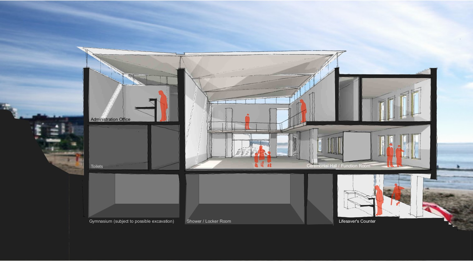 Internal Perspective of the Proposed Concept Design